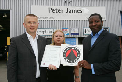 Peter James Motor Group - Trading Standards Approved